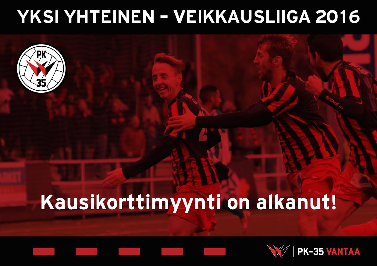 Yksi Yhteinen – Kauden 2016 Kausikortit Nyt Myynnissä!