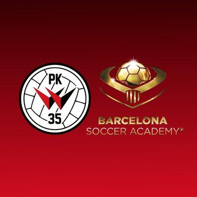 PK-35 Vantaa Ja Barcelona Soccer Academy Yhteistyöhön