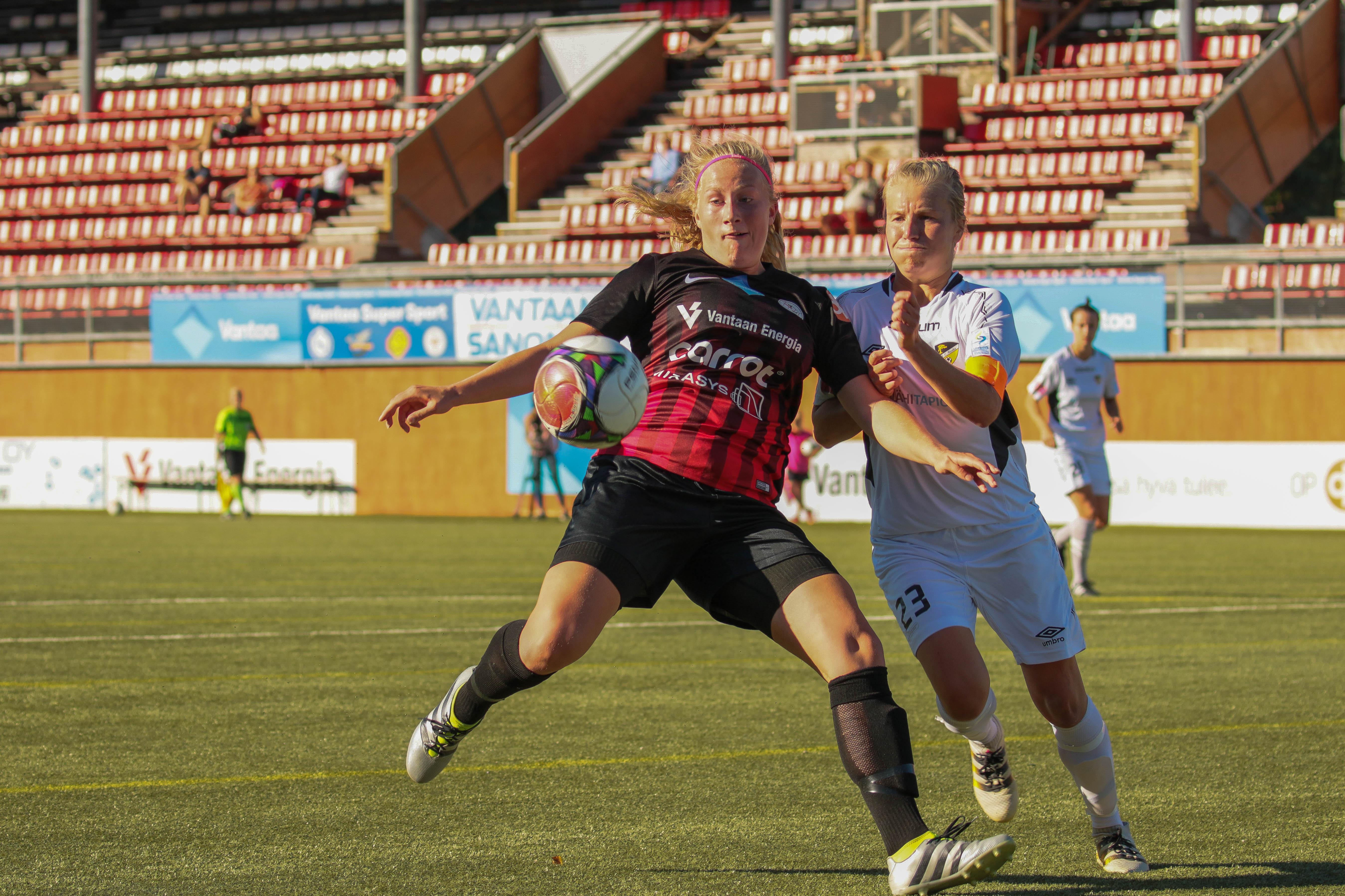 Punamustille Tasapeli FC Honkaa Vastaan