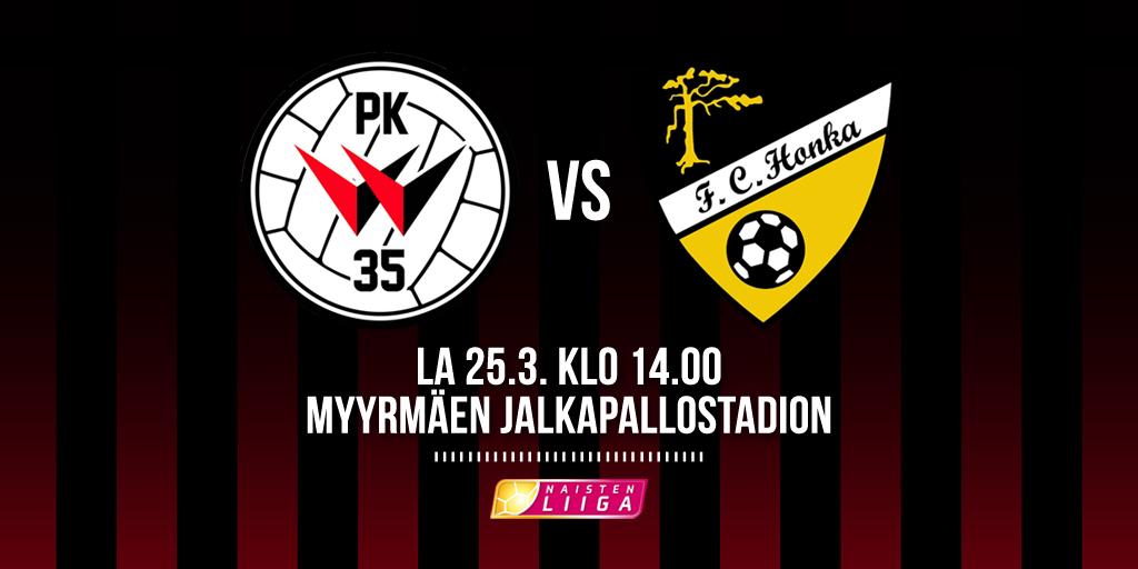 PK-35 Vantaa Kohtaa Kotiavauksessaan FC Hongan