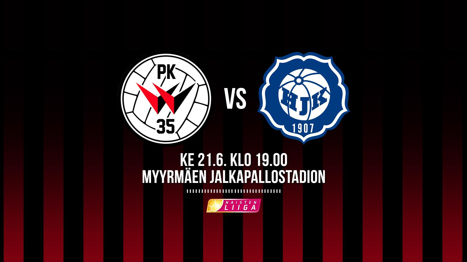 PK-35 Vantaa Saa Paikallisottelussa Vieraakseen HJK:n