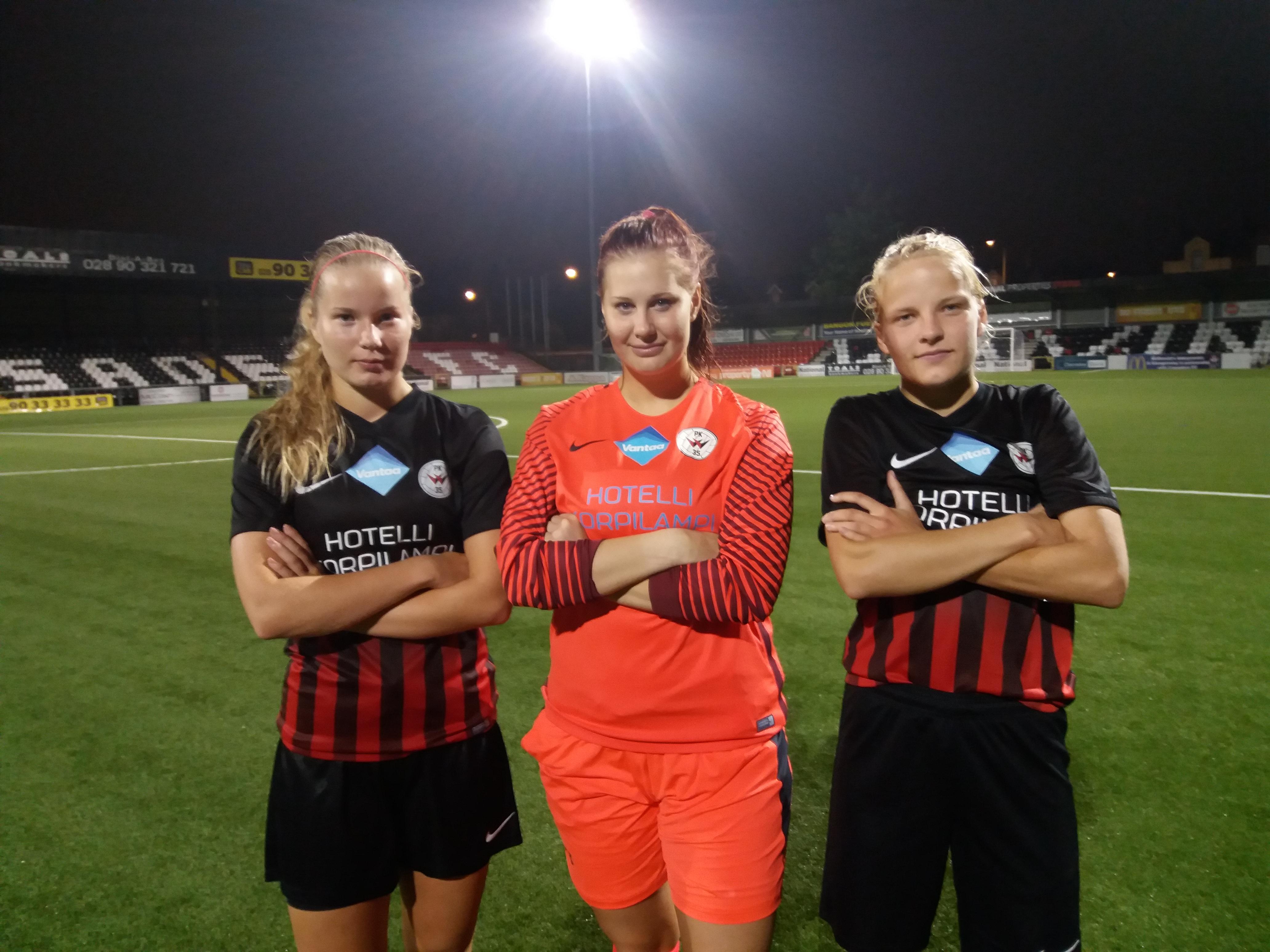 Ottelukooste: PK-35 Vantaa – Linfield FC 1-0 (1-0)