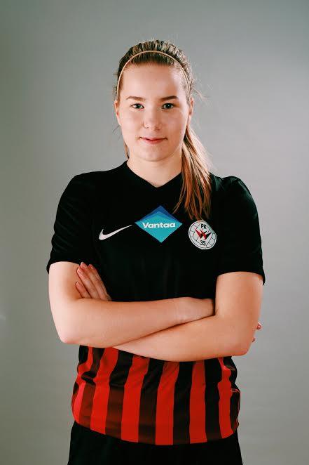 Pelaajakortti: #20 Eva Nyström
