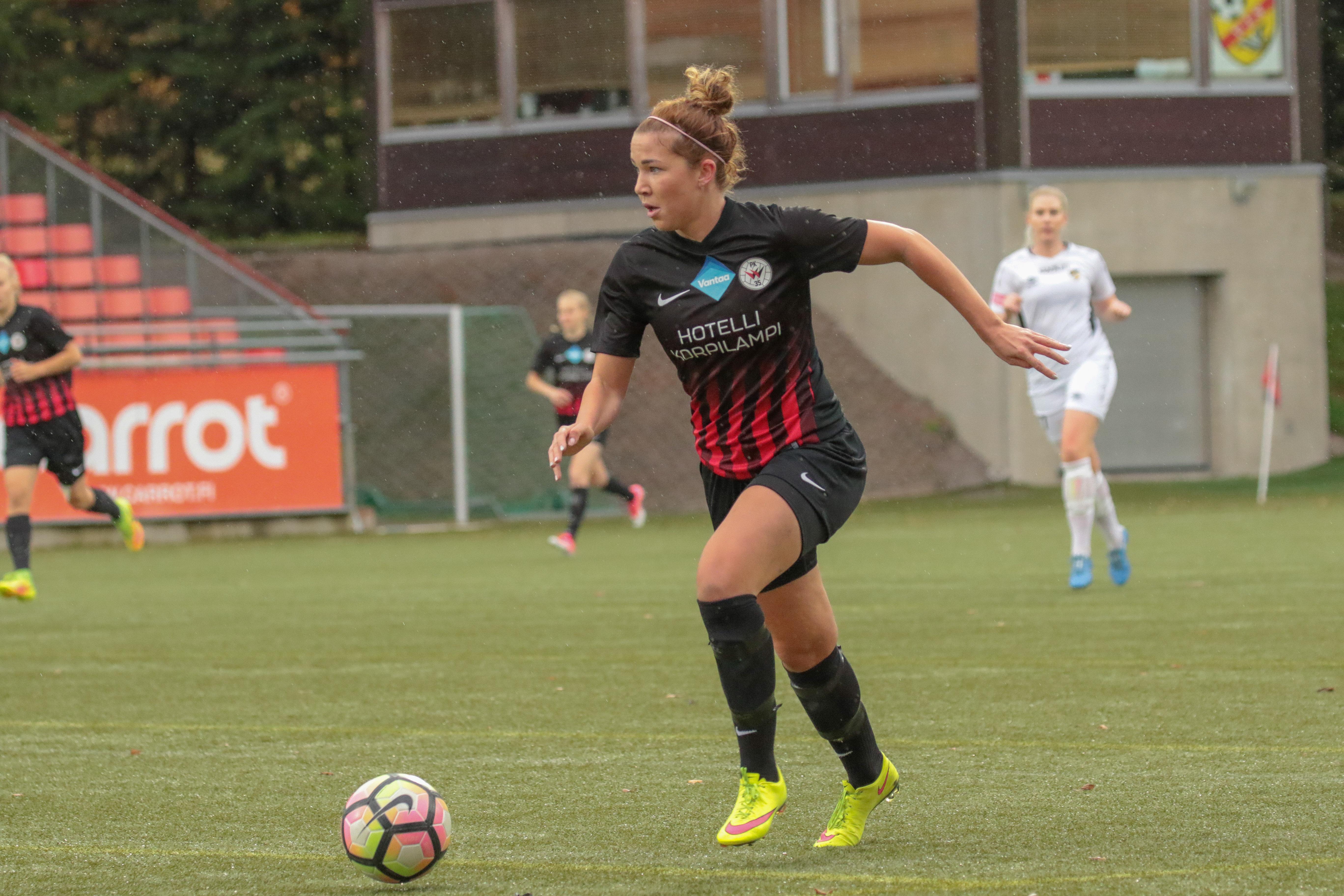 PK 35 Vantaa – FC Honka, 0 1, Naisten Liiga, 7.10.2017 13