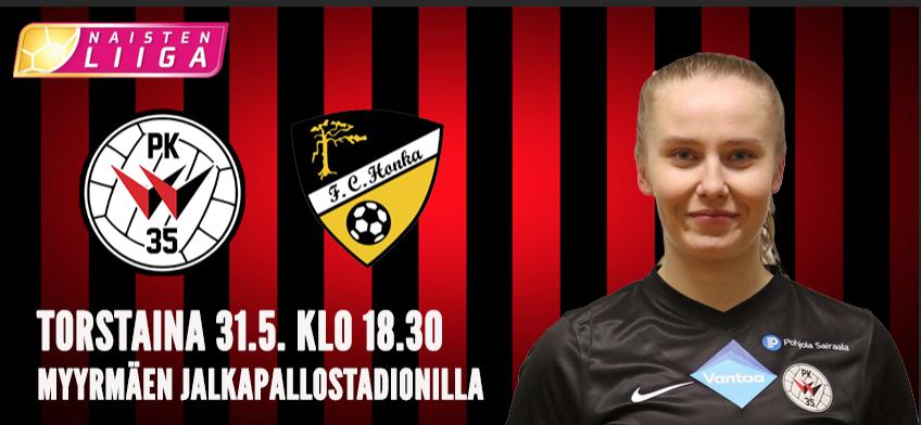 PK-35 Vantaa Saa Huippuottelussa Vieraakseen FC Hongan