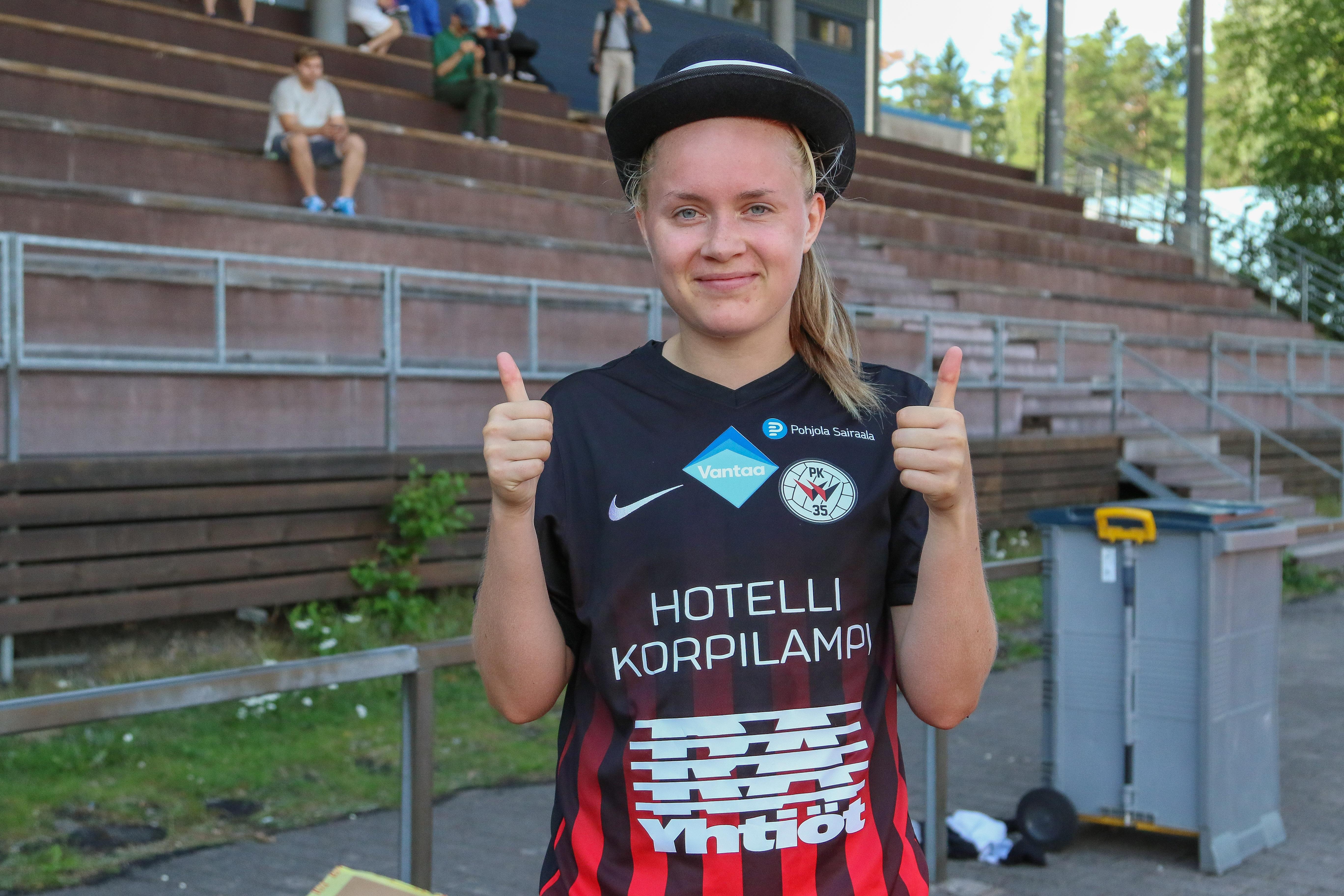 PK 35 Vantaa – ONS, 6 1, Naisten Liiga, 7.7.2018 73