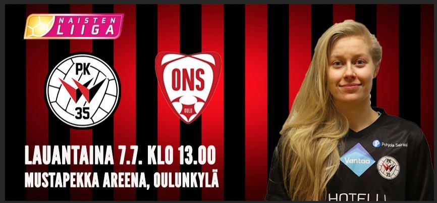 PK 35 Vantaa – ONS 7.7.2018