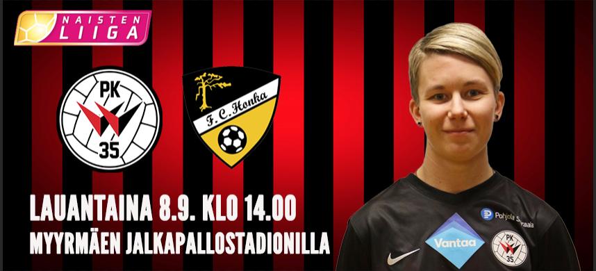 PK 35 Vantaa – FC Honka 8.9., Normaali