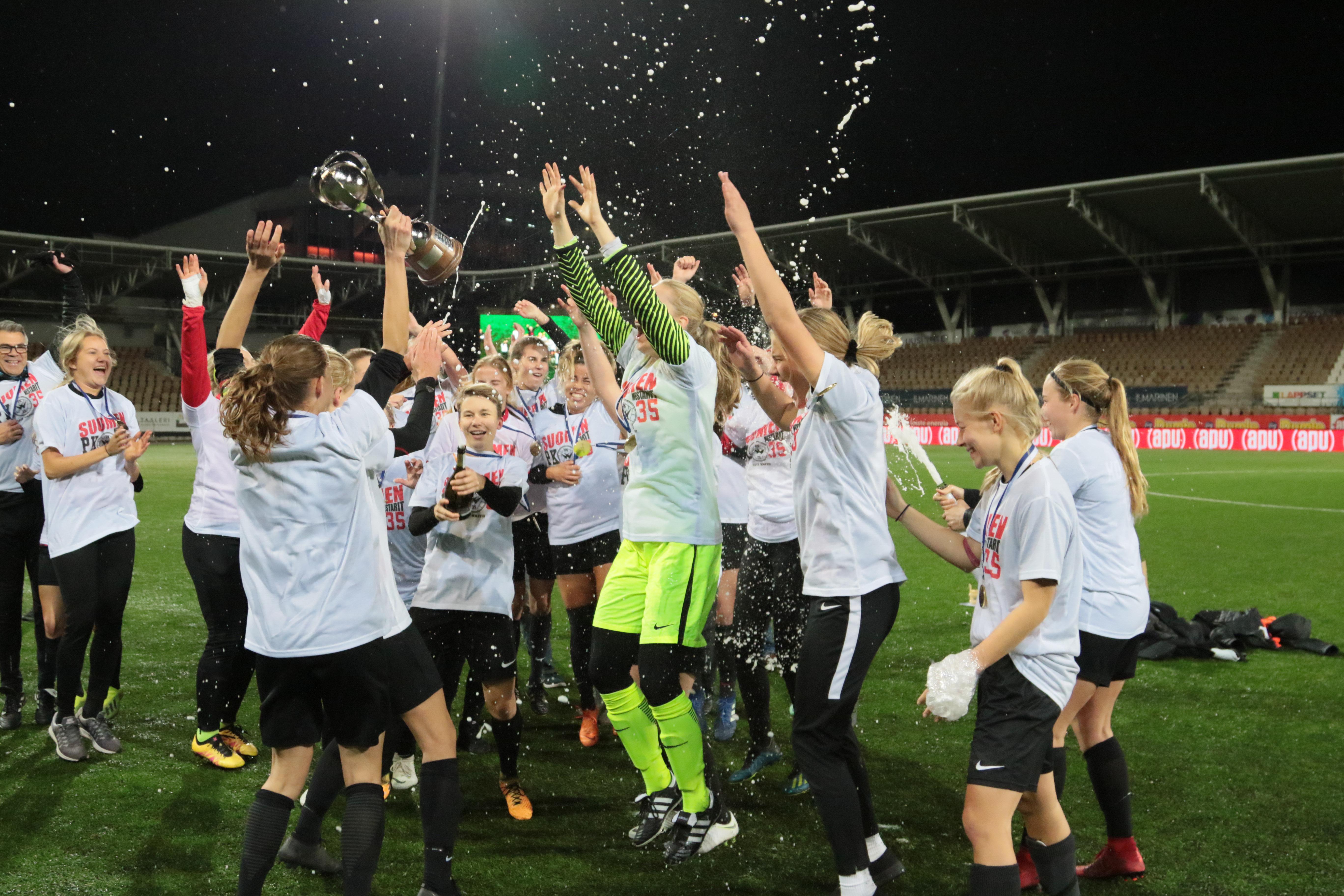 PK-35 Vantaa On Suomen Mestari 2018!