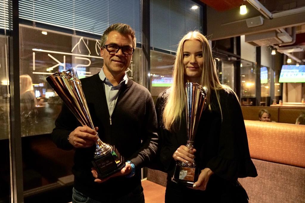 Liigajoukkueelle Palkintoja PK-35:n Kaudenpäätösjuhlassa