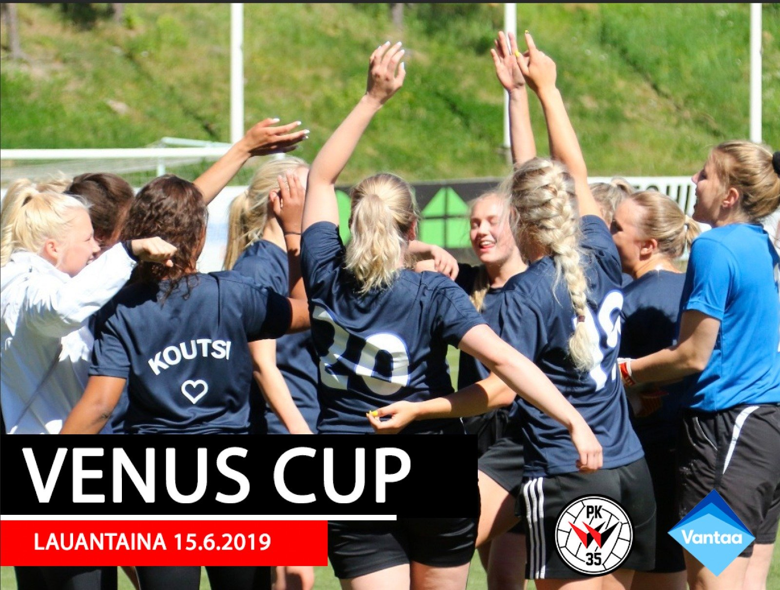 Venus Cup 2019 Pelataan Lauantaina 15.6.