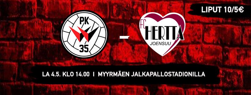 PK-35 Vantaa Saa Kotiavaukseen Vieraakseen FC Hertan