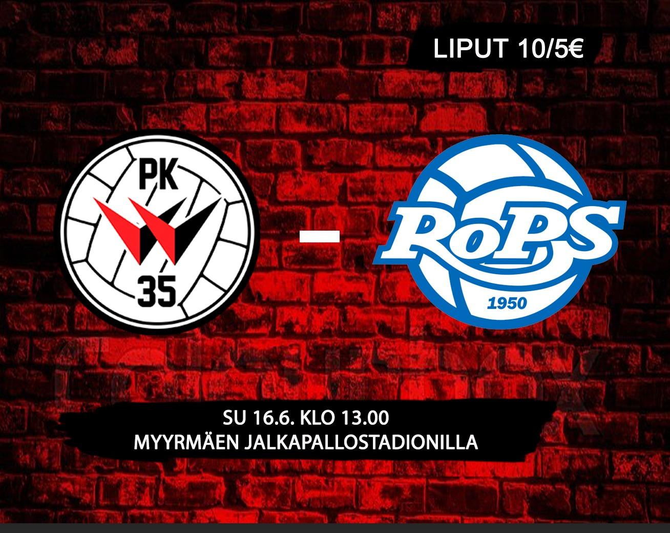 PK 35 Vantaa – RoPS. Instagram