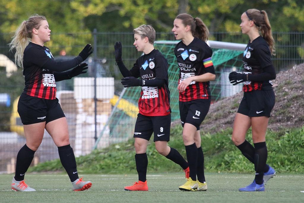 Punamustille Vakuuttava Kotivoitto Vasa IFK:sta