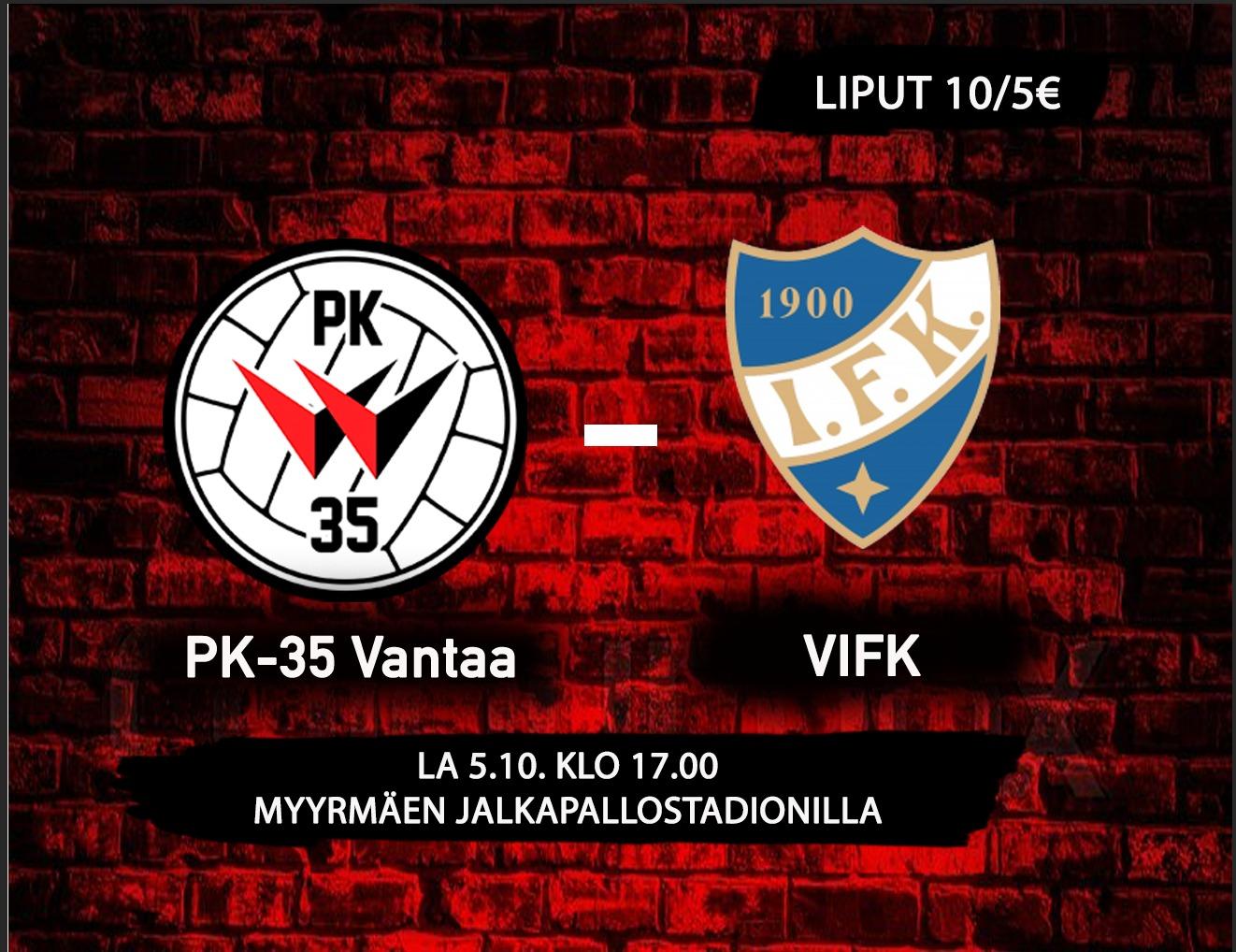 PK 35 Vantaa – VIFK, Instagram