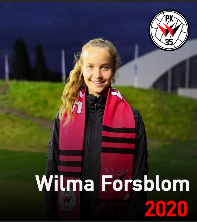 Wilma Forsblom Sopimukseen PK-35 Vantaan Kanssa