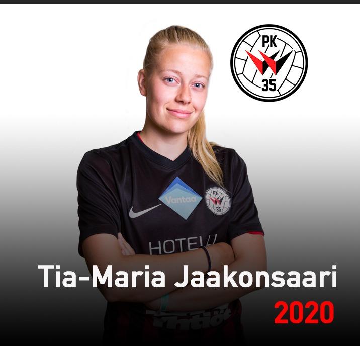 Tia Maria Jaakonsaari 2020