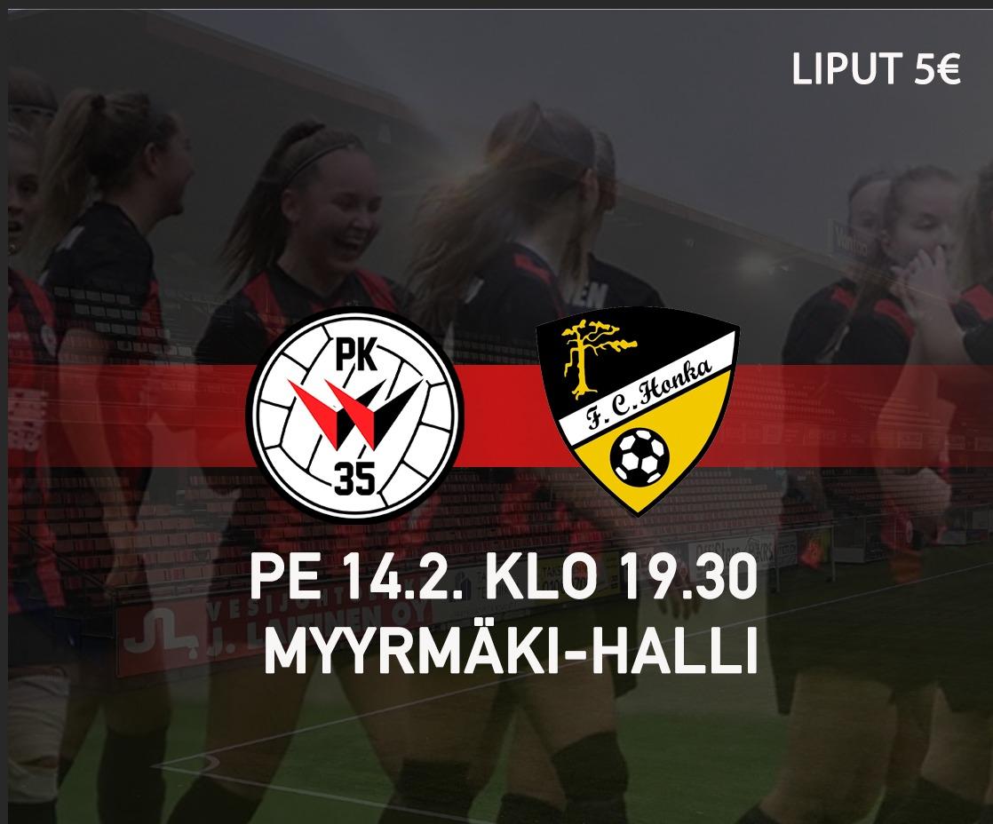 PK 35 Vantaa – FC Honka Suomen Cup, Instagram