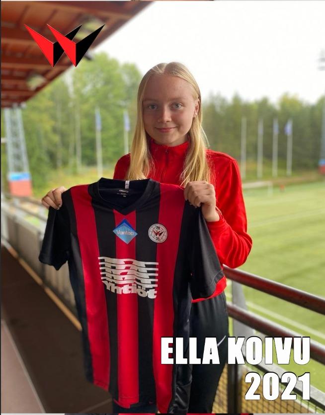 Ella Koivu 2021, Sopimuskuva