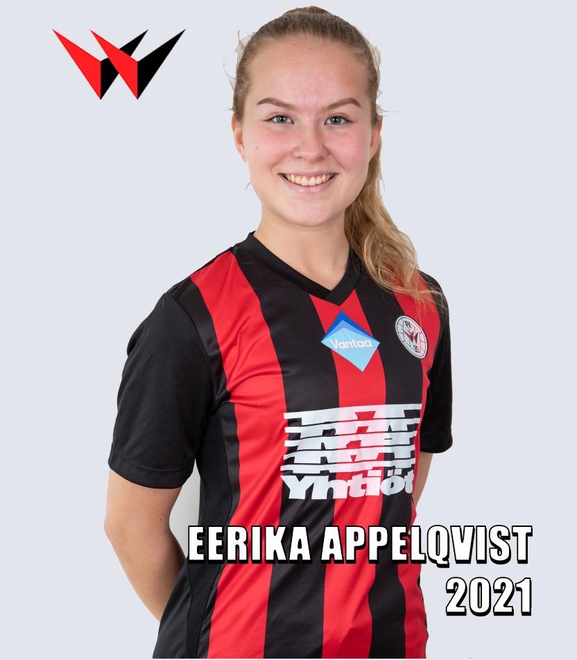 Jatkosopimuskuva, Eerika Appelqvist