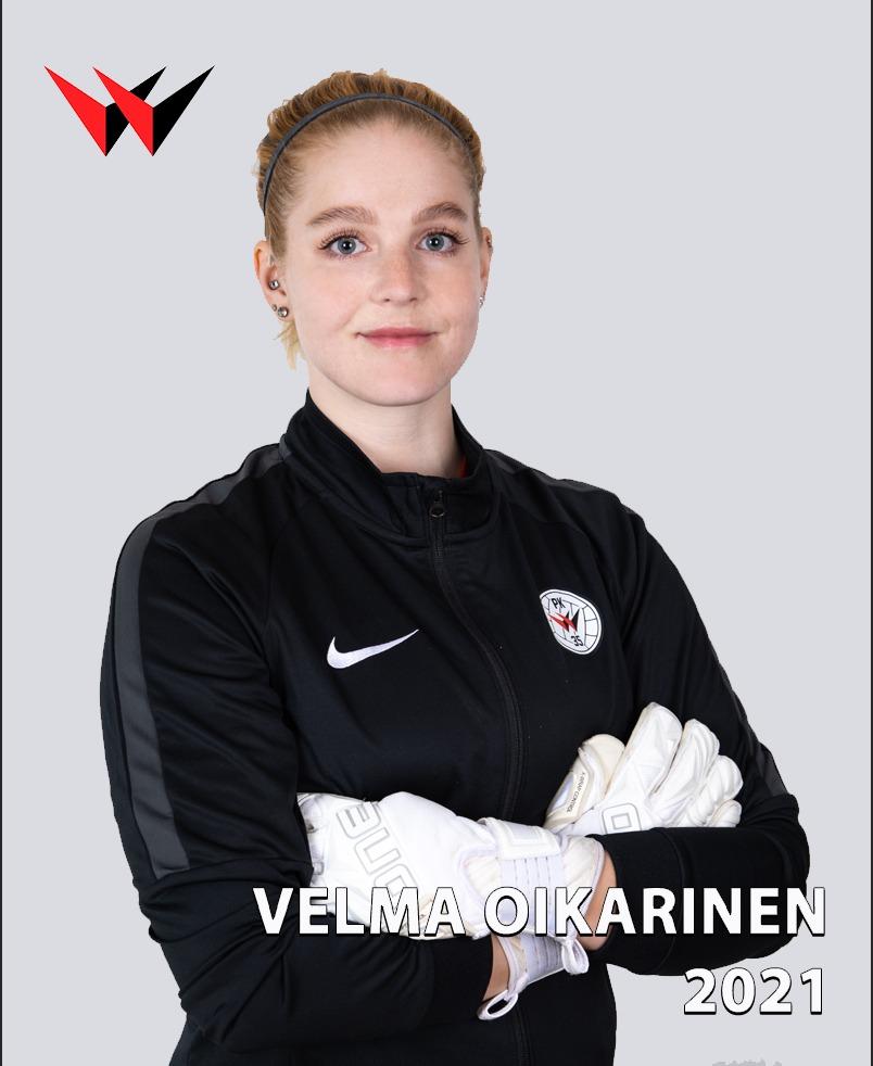 Velma Oikarinen Jatkaa Punamustien Maalilla