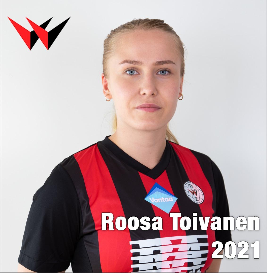 Jatkosopimuskuva 2021, Roosa Toivanen