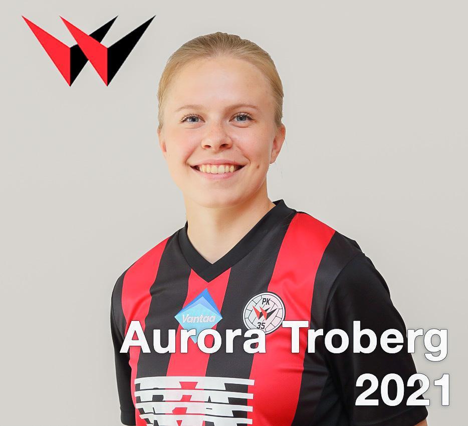 Aurora Troberg Jatkosopimukseen