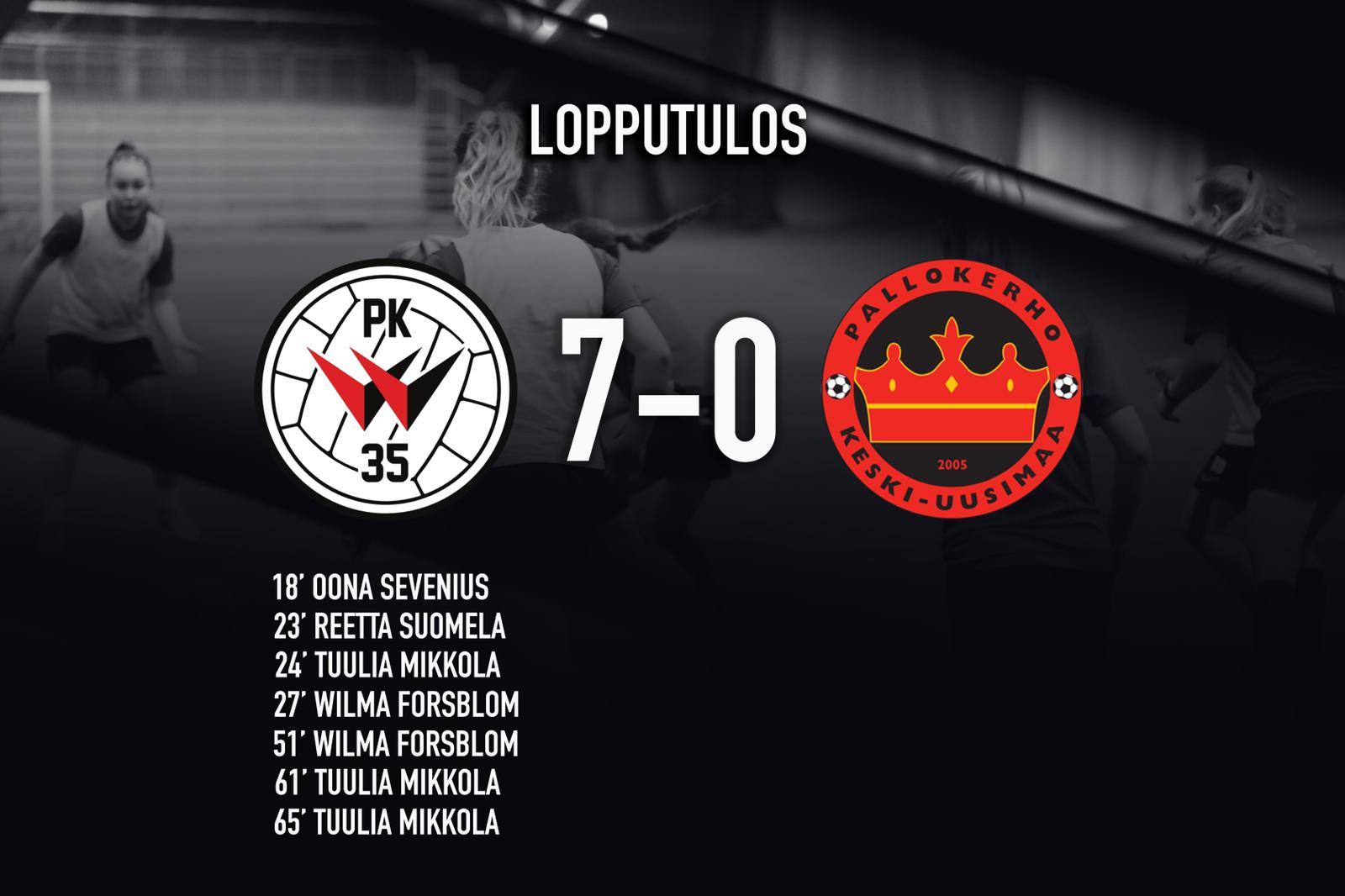 Punamustien Otteluvuosi Käynnistyi 7-0-voitolla