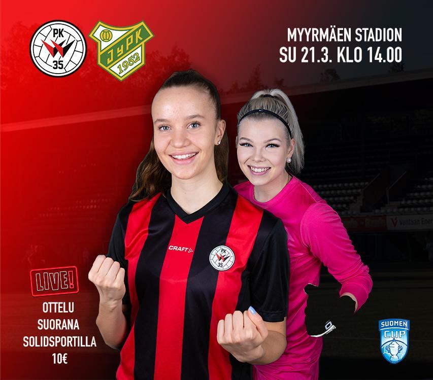PK 35 Vantaa – JyPK, Suomen Cup