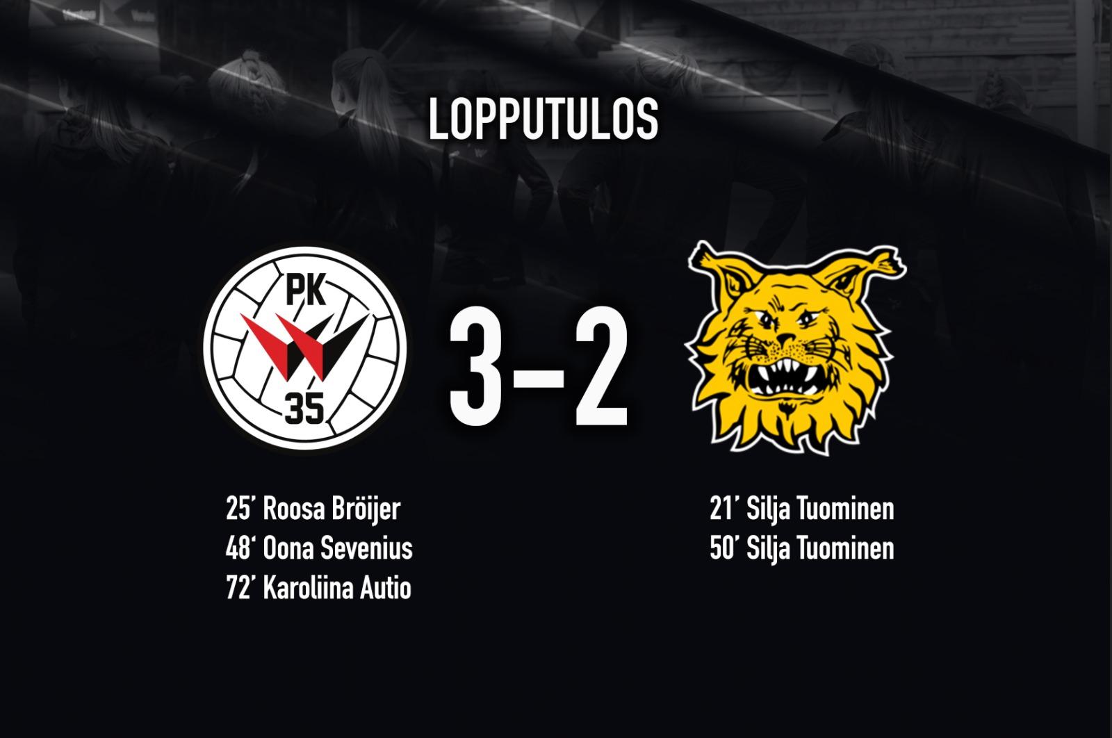 PK 35 Vantaa – Ilves 3 2, Kansallinen Liiga 24.5.2021
